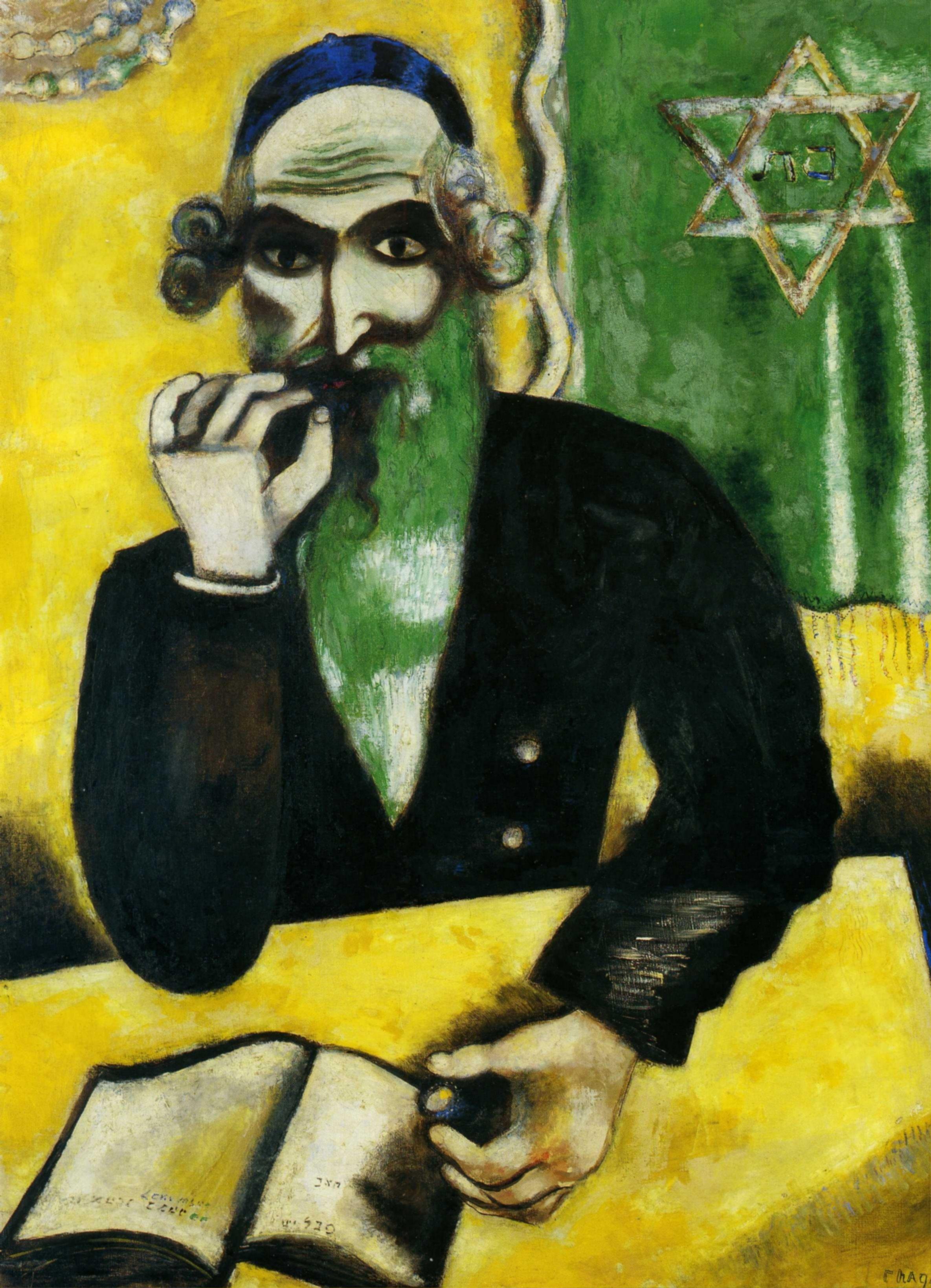 1912 Marc Chagall - Rabbi